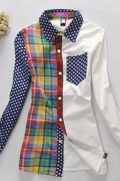 Рубашки в клетку (подборка) / Рубашки / Модный сайт о стильной переделке одежды и интерьера
