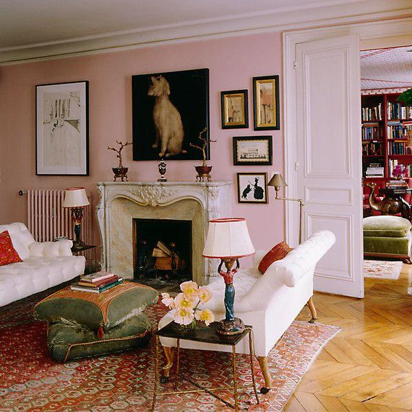 Vintage Paris Living Room: Best 10+ Pink Living Rooms Ideas On Pinterest
