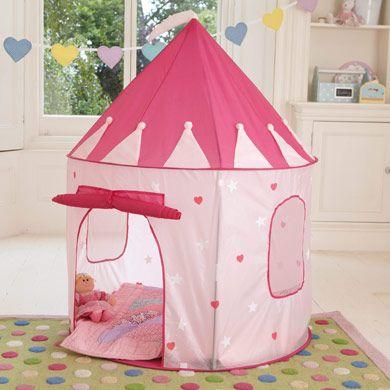 Princess Pop-Up Tent