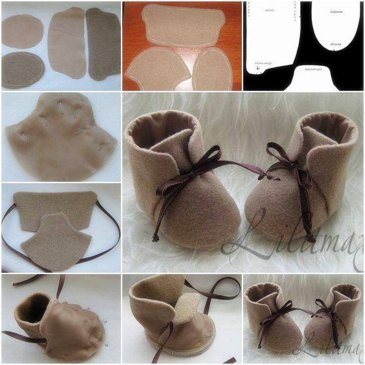 How To stitch Fashion Baby Shoes step by step DIY tutorial instructions