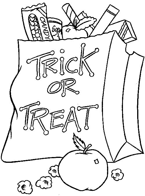 Halloween Coloring Pages (8) - Coloring Kids