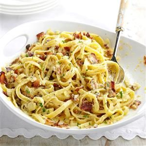 Fettuccine Carbonara Recipe