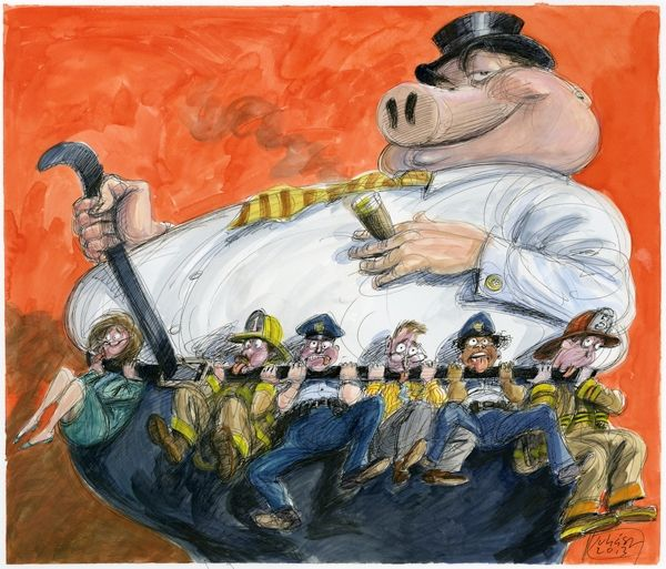 Looting the Pension Funds: How Wall Street Robs Public Workers | Politics News | Rolling Stone