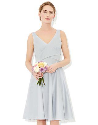Brooke Dress   Silver   Monsoon