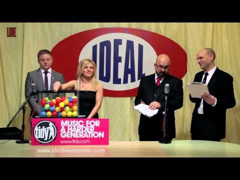 ▶ IDEAL TIDY WEEKENDER: DJ LINE UP LIVE BALL DRAW - YouTube