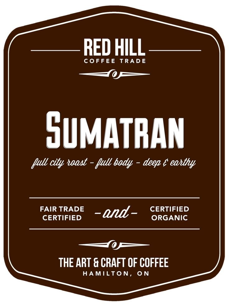 Sumatran: An earthy, deep, complex, and full-bodied coffee that exhibits low-acidity smoothness. A creamy sweet flavour with a touch of butterscotch and spice. Available for purchase online or in-store at E23 (our cafe on Concession) or at the Hamilton Farmer's Market.