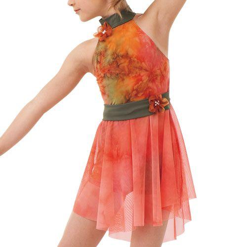 Red Dance Costumes Lyrical