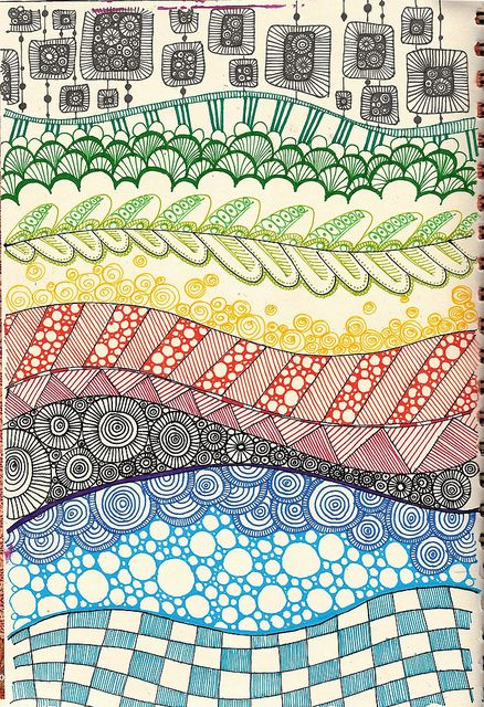 layers of pattern