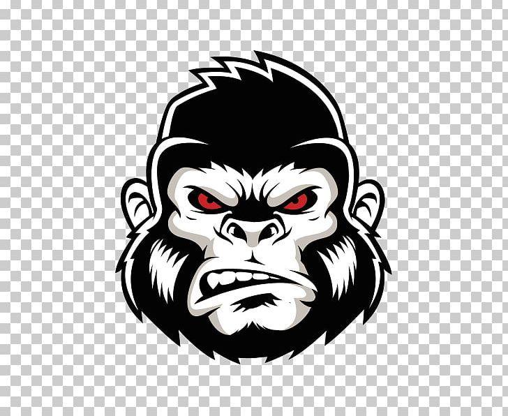 Gorilla Logo Png Angry Gorilla Animals Crossfit Fictional Character Gorilla Tatuaje De Gorilla Diseno Grafico Mexicano Animales