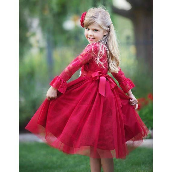 JOIN US in FB FOR FABULOUS WEEKLY GIVEAWAYS AND SPECIAL OFFERS! https://www.facebook.com/SweetValentinaBabyBoutique MADELINE DRESS Party season calls for a fancy, festive dress like this. Ultra soft lace bodice, ruffled sleeves and a beautiful full skirt that makes this dress