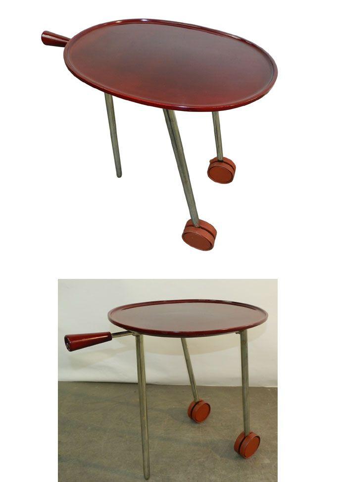 Les 113 meilleures images propos de tables design - Table roulante design ...