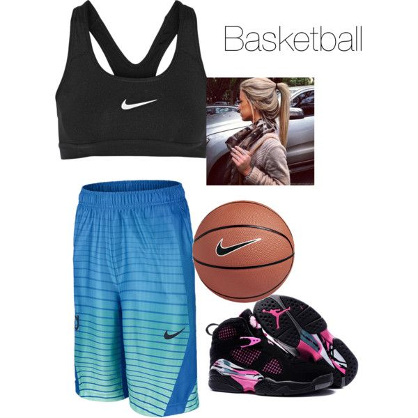 basketball practice by lovecas on Polyvore featuring polyvore fashion style NIKE