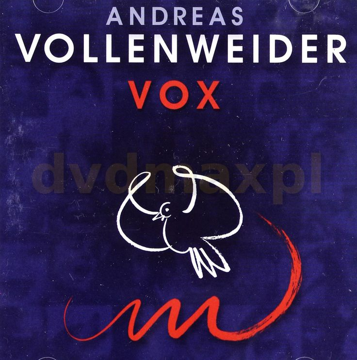 Andreas Vollenweider: Vox (Dual disc) [CD] [DVD] - Andreas Vollenweider za jedyne 560.99 zł - dvdmax.pl