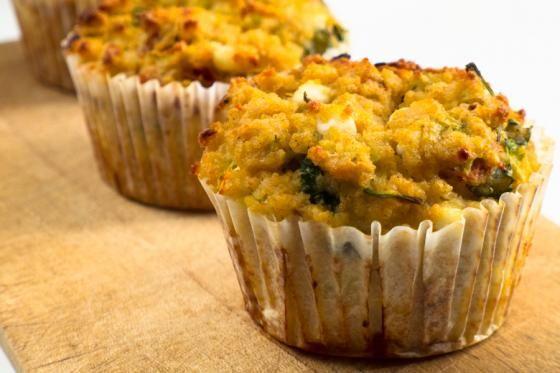 recept, muffiny
