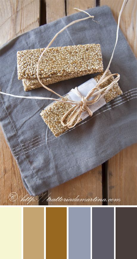 Mini barrette di croccante al sesamo - Trattoria da Martina - cucina tradizionale, regionale ed etnica