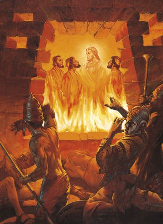 Old Testament picture Our Kids ministry only just taught on the book of Daniel - such a cool book of the bible love Daniel's heart and the passion & faith of Shadrach, Meshach & Abed-Nego