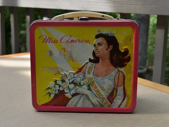 1972 Miss America Aladdin lunch box by FunClassicFinds on Etsy