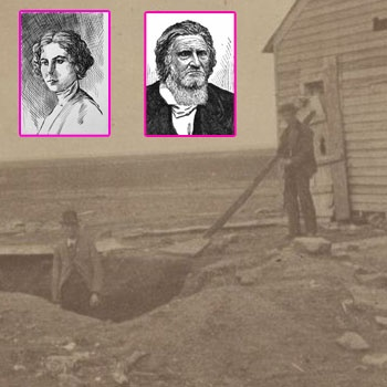 The Bloody Benders of Kansas. They disappeared before being brought to justice.