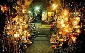Jan el jalili, Paseo en el gran bazar de Cairo, un mercado tradicional en Cairo. http://www.maestroegypttours.com/sp