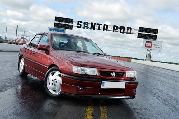 Dan's Cavalier 4x4 Turbo #1 @ Santa Pod, July 2012