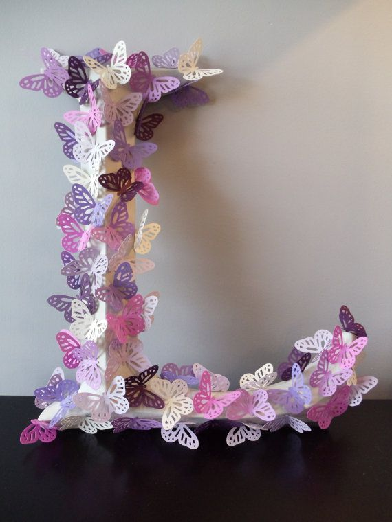 http://www.etsy.com/listing/81448644/butterfly-wall-letter
