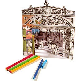 Free download to color and make your own toy theatreToys Theater, Puppets Theater, Printables Paper, Toys Theatres, Paper Theatres, Paper Crafts, Free Printables, Paper Toys, Paper Theater