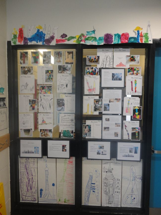 Tower Inquiry Documentation | the curious kindergarten