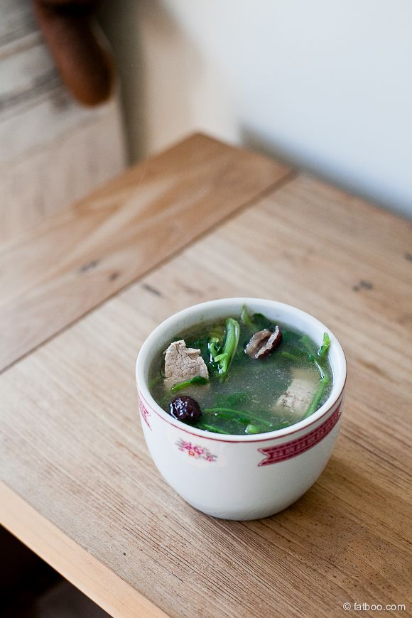 Chinese Watercress Soup Recipe | Let's Get Fat Together