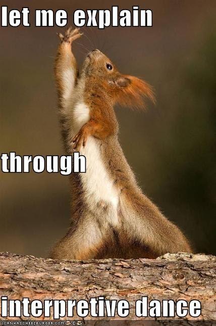 Interpretive Dance Meme | Slapcaption.com