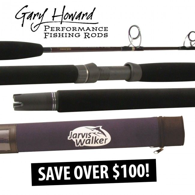 Gary Howard Ocean Dueler Boat Jig #Rods Plus FREE Hard Rod Case offered by Dinga Fishing Tackle Shop in Australia!