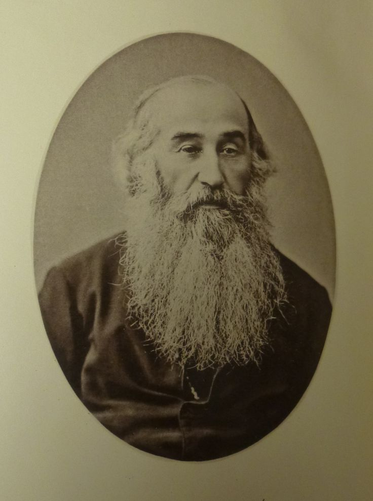 "Today's #beardoftheweek is Samuel Edger, ""an angular person"" and non-denominational minister."