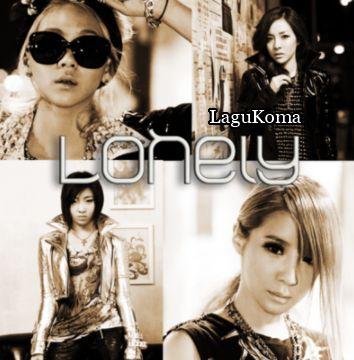 Lagu 2NE1 Lonely English Version Plus Lyric