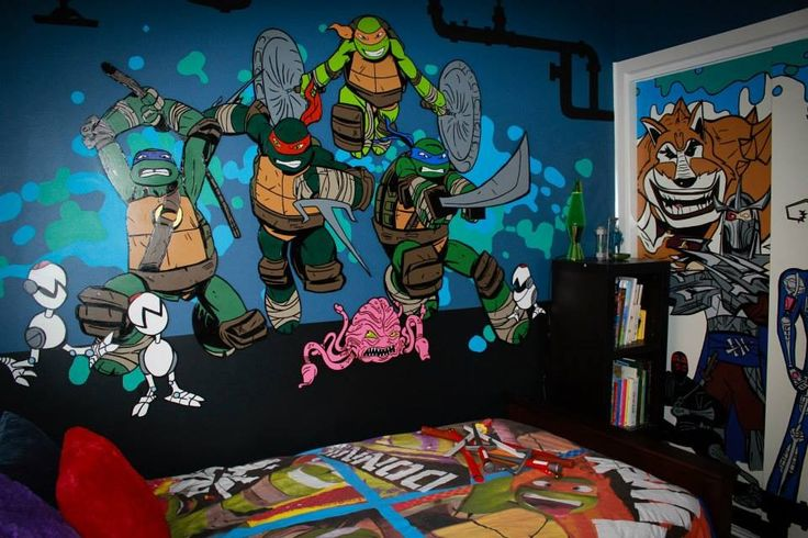 tmnt room roos new room x pinterest boy rooms
