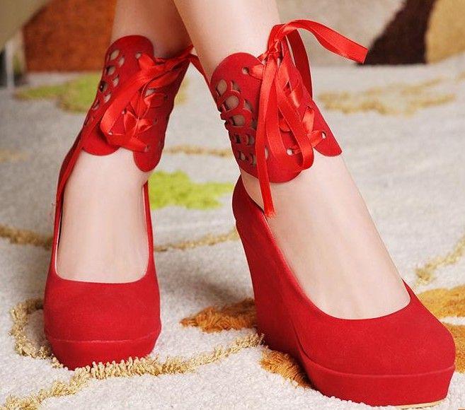 Color: Beige Rojo/Red Melocotón/Apricot Amarillo/Yellow  El numero de talla corresponde a la talla China. Se recomienda que midas la suela de un zapato que uses de tu talla y compares los centimetros que tenga con los de la tabla de nuestra pagina para no equivocarte con la talla, en caso d...