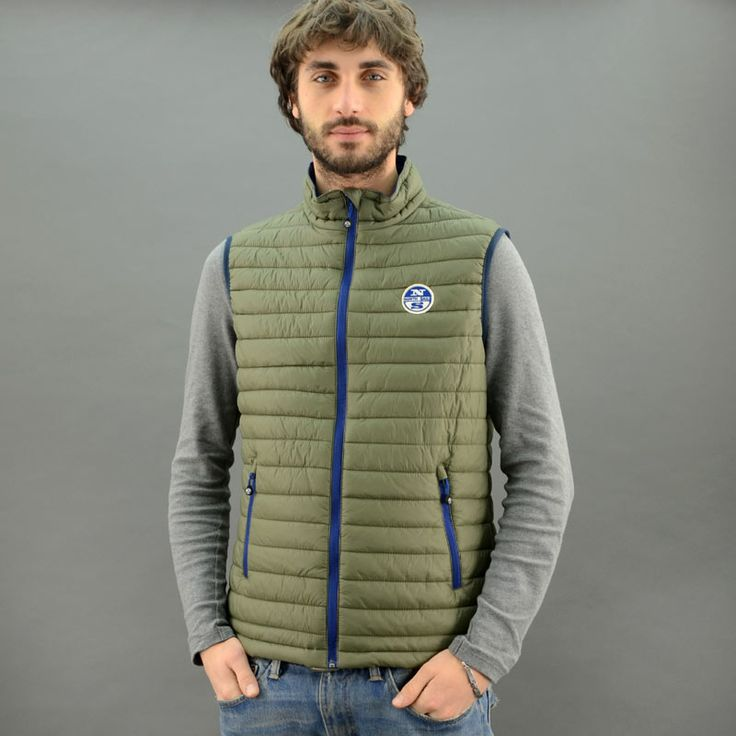 North Sails GILET THERMOLITE SKUNG Verde Militare mod. 4257-93
