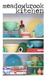 Meadowbrook Farm: love their reno kitchen and vintage decorating !