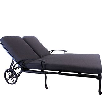 "Napoli Double Chaise BY PROTEGE D 82"" W 53"" H (SH) 15"""