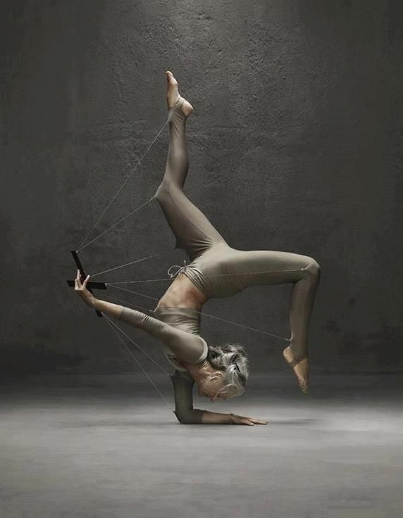 Yoga inspirational | yoga inspiration I want to be this strong and beautiful when I have gray hair