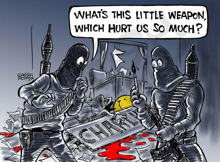 Cartoonists around the world respond - Imgur