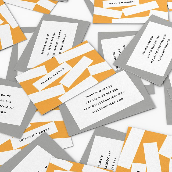 Machine – one of our Graphic business card templates available to customise and order on our site.