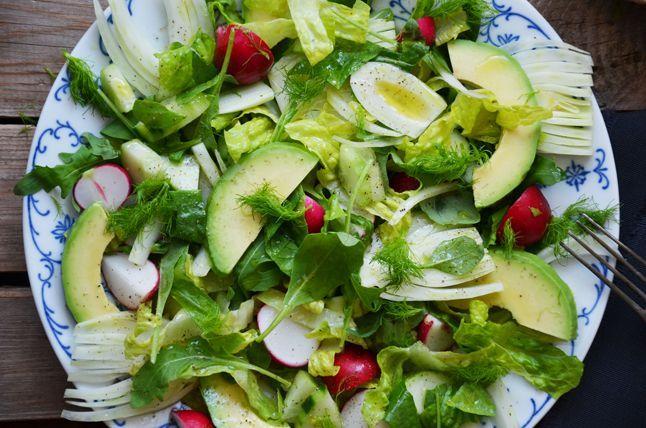 Kublanka vaří doma - Rychlý salát s fenyklem