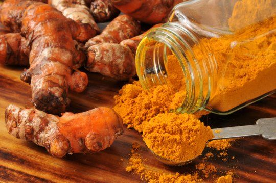 """7 Ways to Eat (& Drink!) Turmeric : : """"To get the most out of your turmeric add 3% black pepper to the mix. Black pepper improves the bioavailability of turmeric, making smaller doses more effective."""" This works out to about 1/2 teaspoon of ground pepper to 1/4 cup of turmeric."""