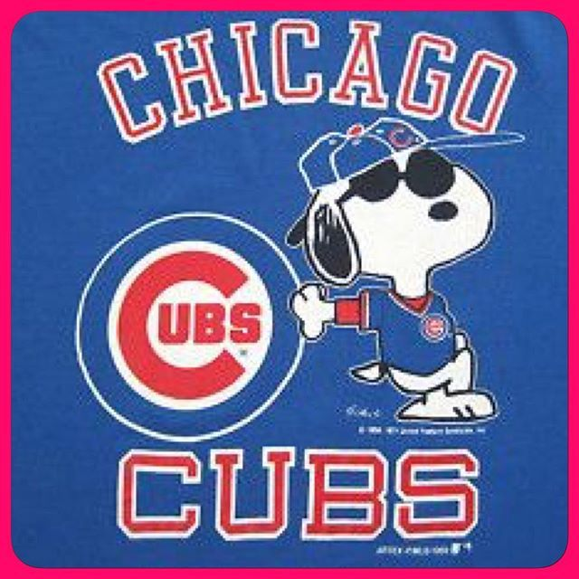 Congrats, Cubs!  You're next, Charlie Brown!  #baseball #worldseries #chicago #cubs #chicagocubs #extrainnings