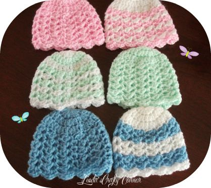 Free Crochet Pattern For Preemie Baby Booties : 17 Best images about Charity Crochet on Pinterest Free ...