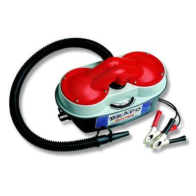 BRAVO 12 #Electric_Pump With 1 year Warranty..!! Ideal for #Boats up to 2-4 mts..Can Inflate and deflate- Dependant on valve size to how effective the deflation will be...!!