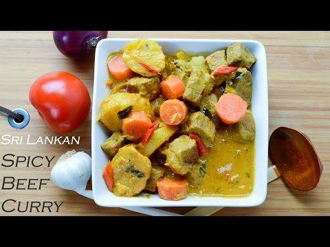 How to Make Sri Lankan Beef Curry / හරක් මස් කරි - YouTube