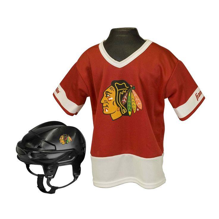 Franklin NHL Chicago Blackhawks Uniform Set - Kids, Boy's, Multicolor
