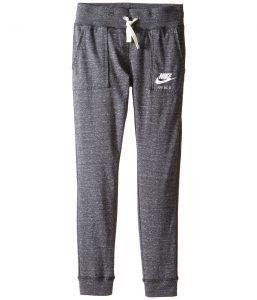 Nike Kids Sportswear Vintage Pant (Little Kids/Big Kids) (Anthracite/Sail) Girl's Casual Pants
