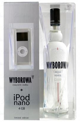 Polish vodka + iPod, nice stuff :)