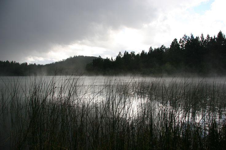 Black Lake, Kamloops BC, Canada. August 2014